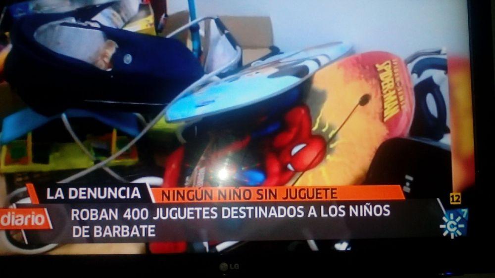 CAMPAÑA DE JUGUETES EN LOS MEDIOS DE COMUNICACION (1/6)
